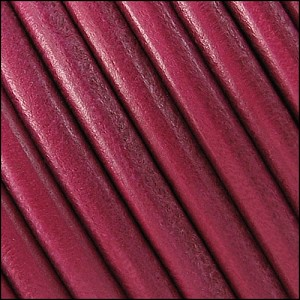 5mm Round Portuguese Leather FUCHSIA - per 25M spool
