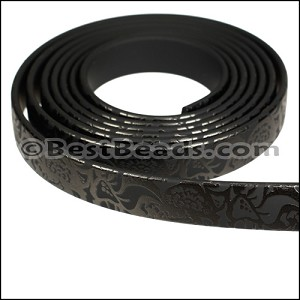 10mm flat GLOSSY band STYLE 1 - per 1 meter