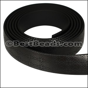 15mm flat GLOSSY band STYLE 4 - per 1 meter