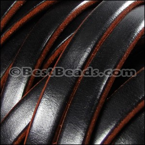 Regaliz® 4.5mm TWO TONE leather TAN - per 10m SPOOL