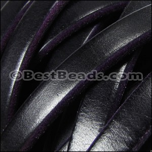 Regaliz® 4.5mm TWO TONE leather PURPLE - per 2 meters