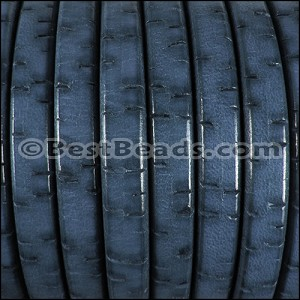 Regaliz® BARK Leather PACIFIC BLUE - per 10m SPOOL