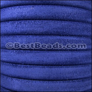 Regaliz® SUEDE Leather  ROYAL BLUE - per 2 meters