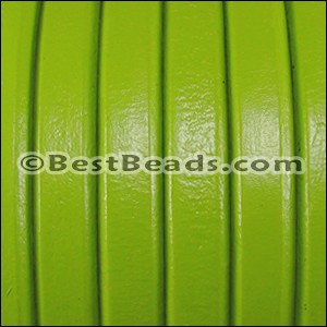 Regaliz® Leather Oval PISTACHIO  - per 25m SPOOL