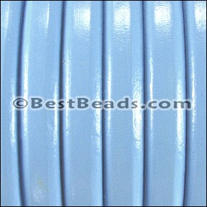 Regaliz® Leather Oval BABY BLUE  - per 25m SPOOL