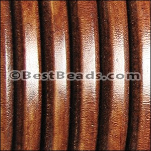 Regaliz® Leather Oval WHISKEY - per 1 meter