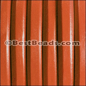 Regaliz® Leather Oval CORAL - per meter