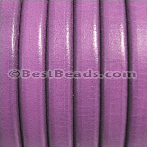 Regaliz® Leather Oval MATTE GRAPE - per 1 meter