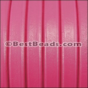 Regaliz® Leather Oval FUCHSIA - per 1 meter
