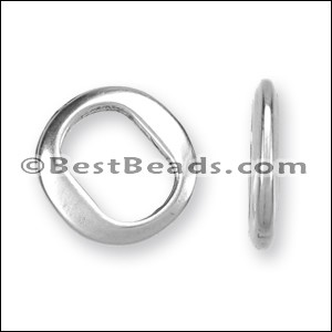 Regaliz® THIN spacer ANT. SILVER - per 10 pieces