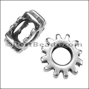 Regaliz® COG spacer ANT. SILVER - per 10 pieces