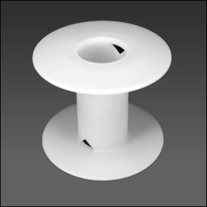 Blank White Spool MEDIUM - per 1 piece