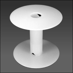 Blank White Spool LARGE - per 1 piece