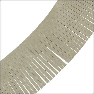 Tassel Fringe Leather LINEN - per 1 foot