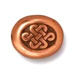 small endless bead ANTIQUE COPPER