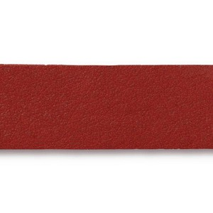 Leather Strip RED - per piece