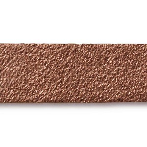 Leather Strip ANTIQUED COPPER - per piece