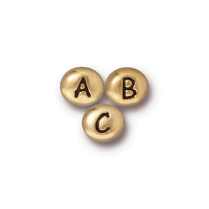 small alpha bead KIT - ANTIQUE GOLD