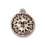 sunshine charm ANTIQUE SILVER