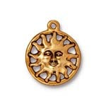 sunshine charm ANTIQUE GOLD