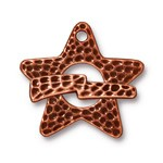 hammerstone star toggle ANTIQUE COPPER tone
