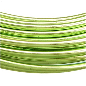 aluminum wire 1mm APPLE GREEN