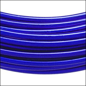aluminum wire 2mm ELECTRIC BLUE