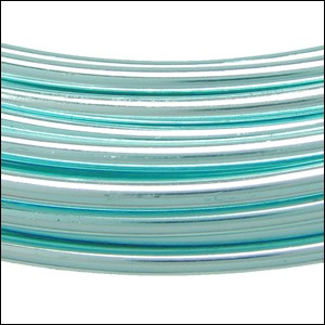 aluminum wire 2mm ICE BLUE