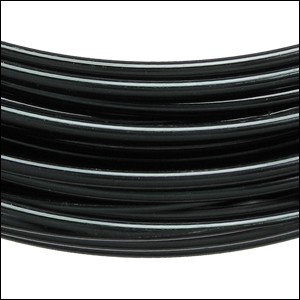 aluminum wire 1mm BLACK