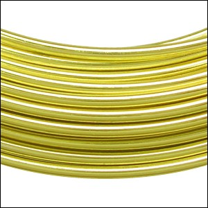 aluminum wire 2mm NEON YELLOW